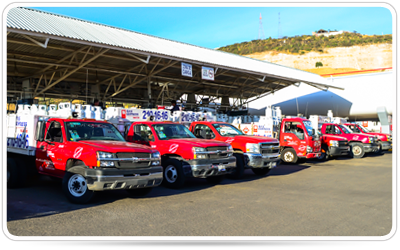 Servicio de gas en Cilindros